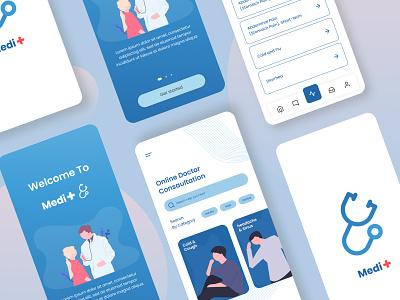 Medi Plus   Concept Ap invisionapp medical hospital nurses doctor icons illustrations designs application apple concept design ui app design app ux design typography invision ui ux designer uidesign