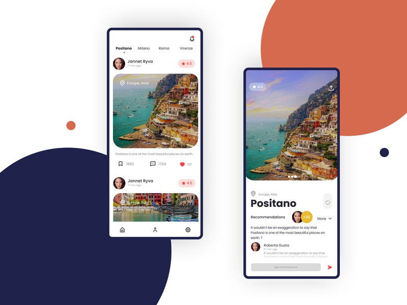 Travel App Concept app travel concept typography travel poster travel app illustration app design concept design uidesign ui ux designer design invisionstudio invisionapp invision animation