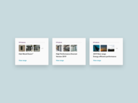 Product Range Tile UI