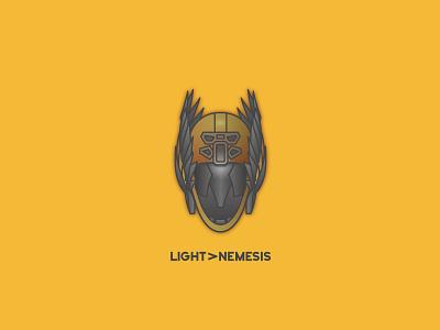 Light Beyond Nemesis video games helmet destiny bungie illustrator vector