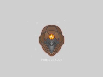Prime Zealot Helm video games helmet destiny bungie illustrator vector