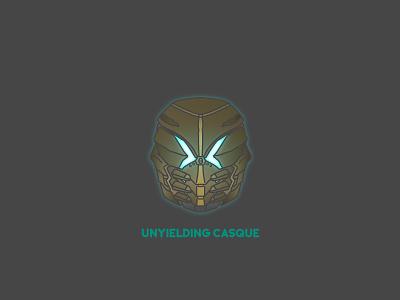 Unyeilding Casque video games helmet destiny bungie illustrator vector