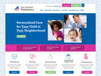 East Suburban Pediatrics Website