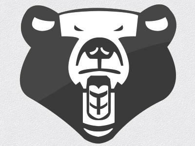 Rawr bear brand vector rawr