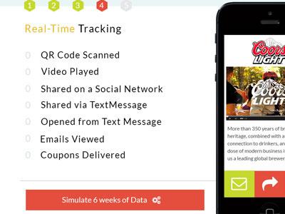 Real Time Tracking Demo demo analytics