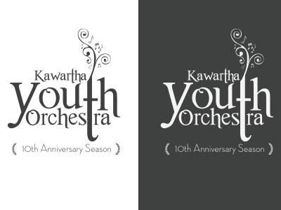 KYO Logo logo youth orchestra music whimsy