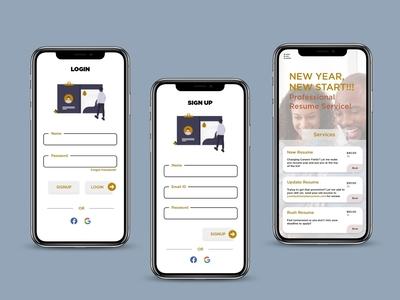 Resume Making App