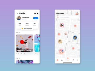 Profile discover App