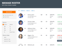 Manage Roster