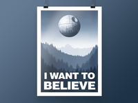 "[2017] ""I Want To Believe"" - Illustration"
