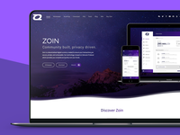 [2017] Zoin - Web design and development