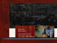 [2017] Massale Restaurant - Web design and development