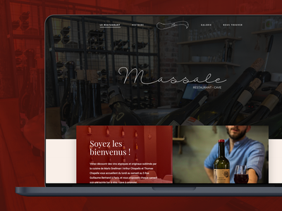 [2017] Massale Restaurant - Web design and development restaurant wordpress design webdevelopment wordpress web development web design
