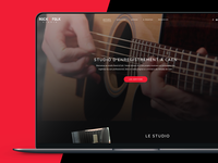 [2018] Rock'N'Folk Studio - Web design and development