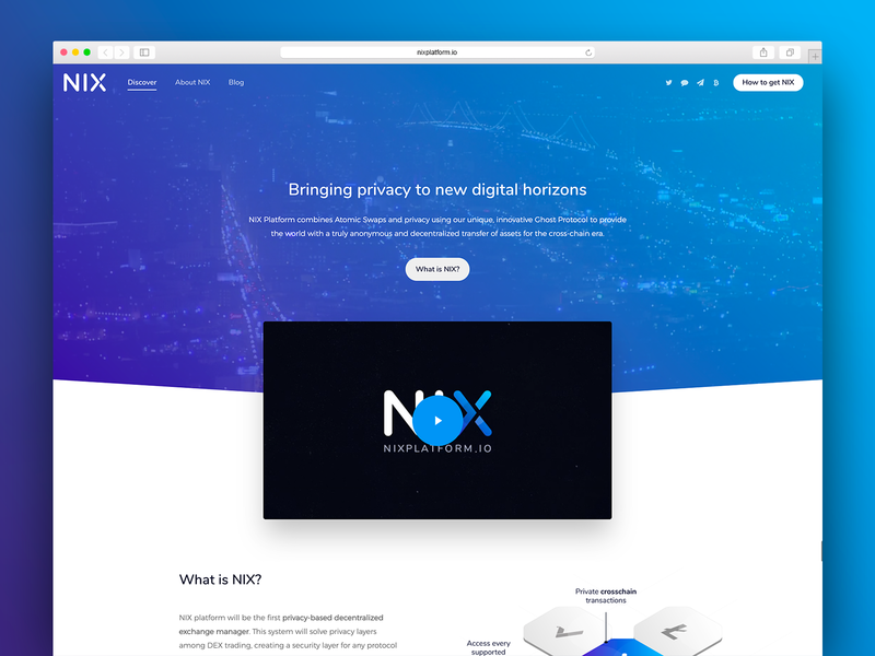 [2018] NIX Platform - Web design and development website wordpress web development web design