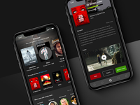 [2019] UI & UX design - Movies App Concept