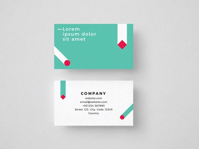 Gravity Shapes Free Business Card Template free identity design visual identity minimalism freebie business cards free business cards branding