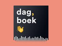Podcast Cover Art for 'Dag, Boek'