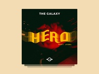 Cover Art for 'Hero' by The Galaxy