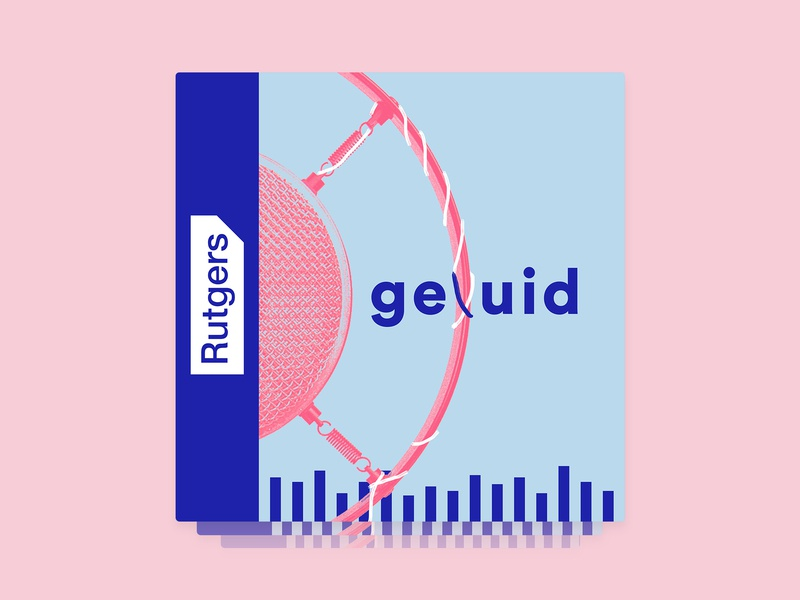 Podcast Cover Art for 'Geluid' podcast cover podcast podcasting podcast art podcast logo artwork coverdesign cover design cover artwork cover art