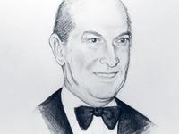 Oscar De Renta Portrait