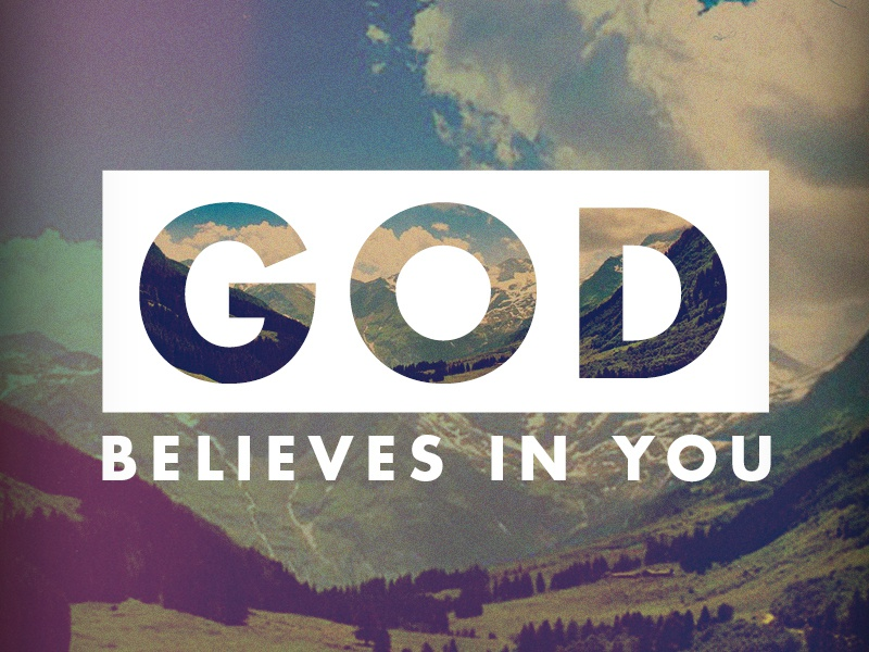 To believe in God means living according to His Word