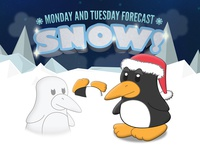 Snow Is On The Forecast!