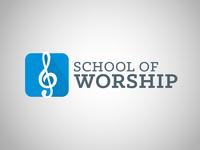 School of Worship Logo No. 2