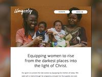 Uniquely Woven Website