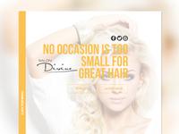 Salon Divine Website