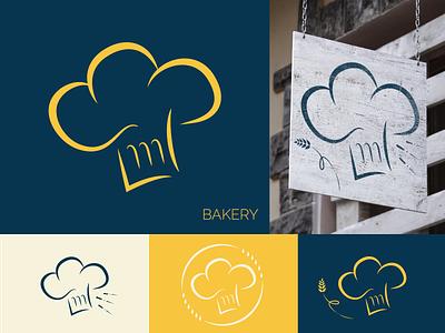 Brand Logo - BAKERY by Graphistol logotype logosource logo illustration freelance identité visuelle graphistol graphiste design branding
