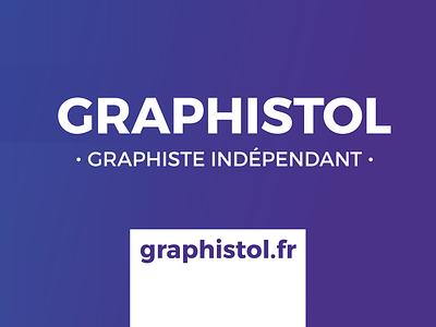 Graphistol le Graphiste typography branding ui illustration identité visuelle logo design freelance indépendant graphistol graphiste