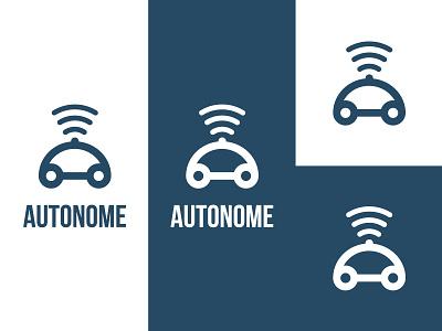 Daily Logo Challenge - Day 5 - Autonome Car logotype logo illustration dailylogochallenge identité visuelle graphistol graphiste freelance design branding