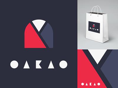 Daily Logo Challenge - Day 7 - Oakao Brandmark logotype logo illustration dailylogochallenge identité visuelle graphistol graphiste freelance design branding