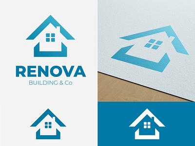 Brand Logo - RENOVA by Graphistol vector logotype logo illustration identité visuelle graphistol graphiste freelance design branding