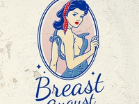 Breast August Logo