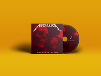 Metallica - Moth into Flame (Single Cover Design)