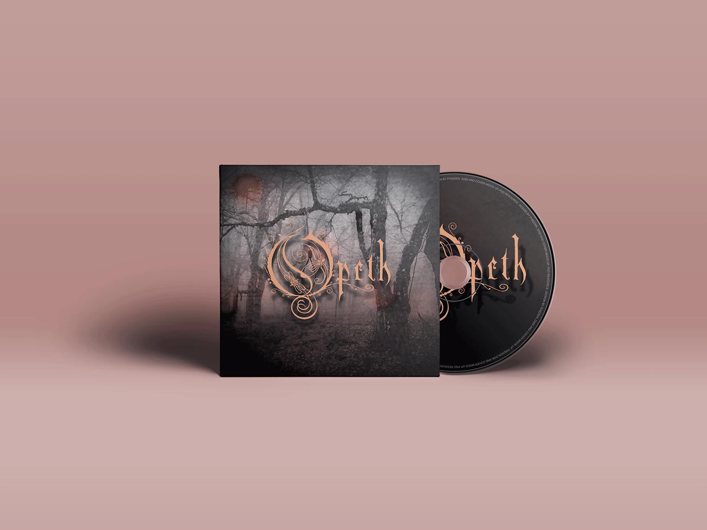 Opeth music artwork branding vector logo creative manipulation album artwork photoshop illustration photoshop art design