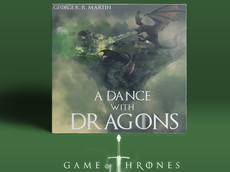 A Dance With Dragons creative branding designer manipulation album artwork photoshop illustration photoshop art design gameofthrones