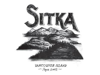 Sitka Tshirt Graphic bohie palecek tshirt graphic sitka retro vintage typography hand drawn apparel