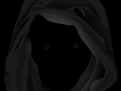 Cloak affinitydesigner vector practice illustration