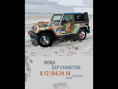 Jeep Wrangler - Cubism