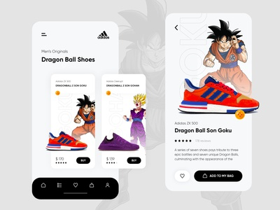 Sneakers App - Dragon Ball Shoes