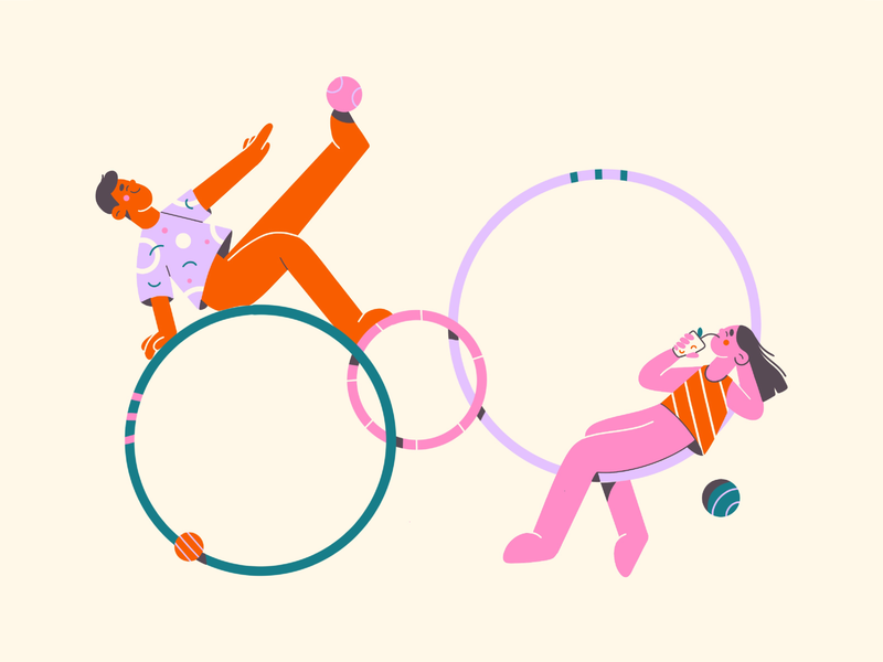 After work 💕 flat illustrator vector flat minimal art colors fun web illustration minimal illustration minimal illustration 2d vector art illustration character design character