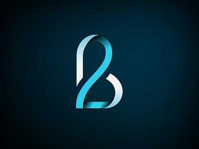 B + 2 identity branding 2 logo b logo medical