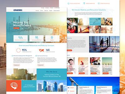 Relocation website design website international fortune 500 relocation web dev denver web design