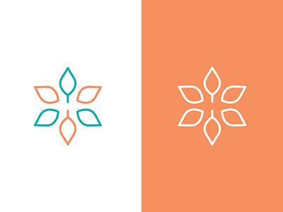 H Logo + Flower/Growing flower logo seasons logo h h logo logo mark branding logo