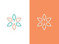 H Logo + Flower/Growing