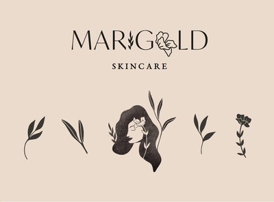 All-Natural Skincare Brand Concept