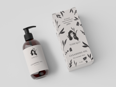 Packaging Concept for All Natural Skincare Company